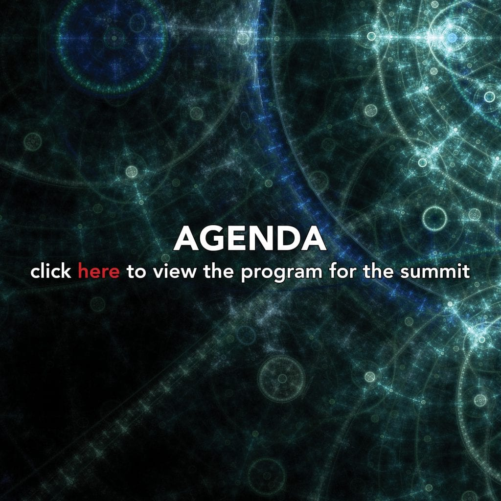 cyber art background image with text on Agenda